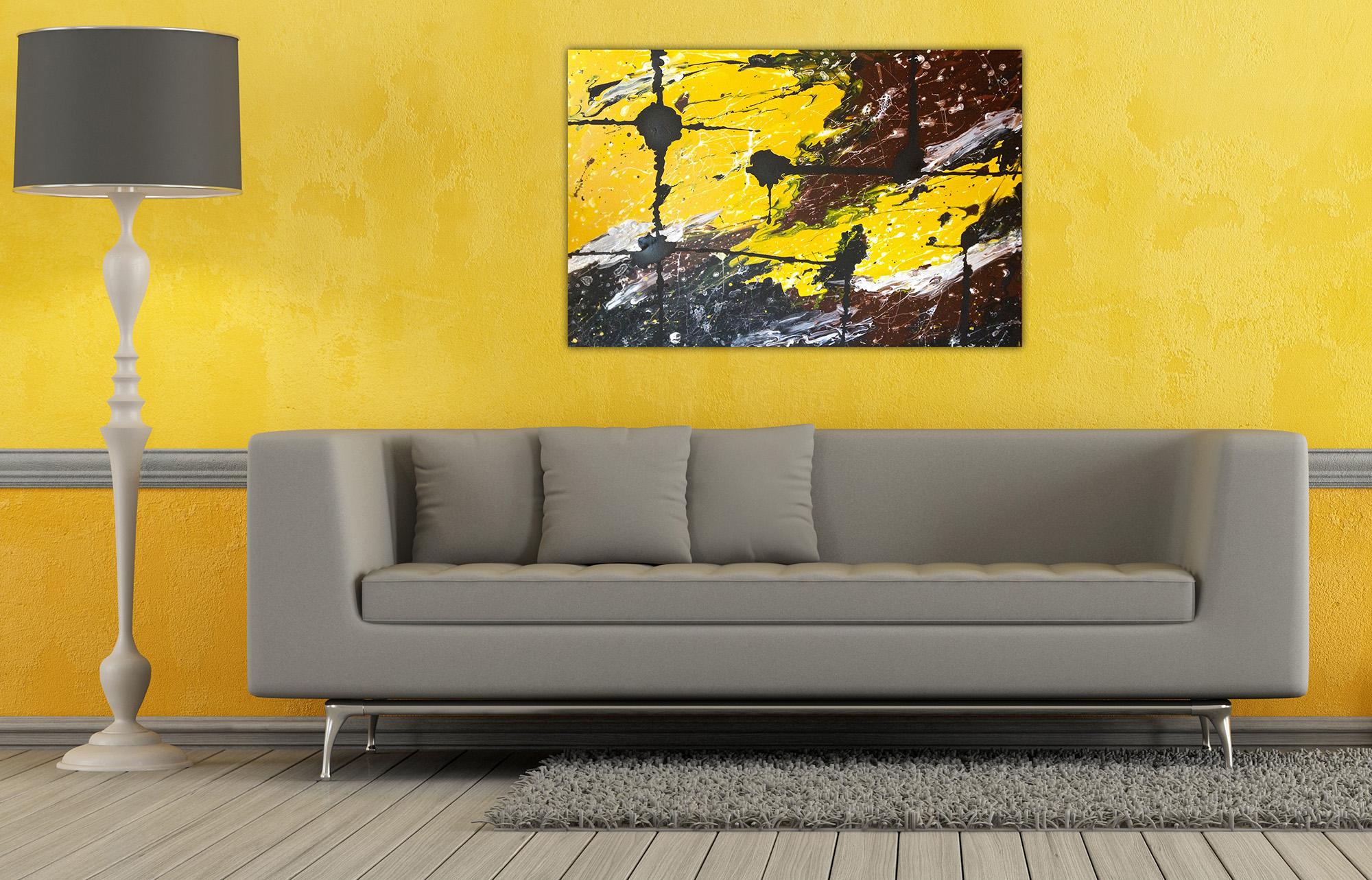 Желтый цвет в интерьере квартиры (50 фото): удачные сочетания и акценты