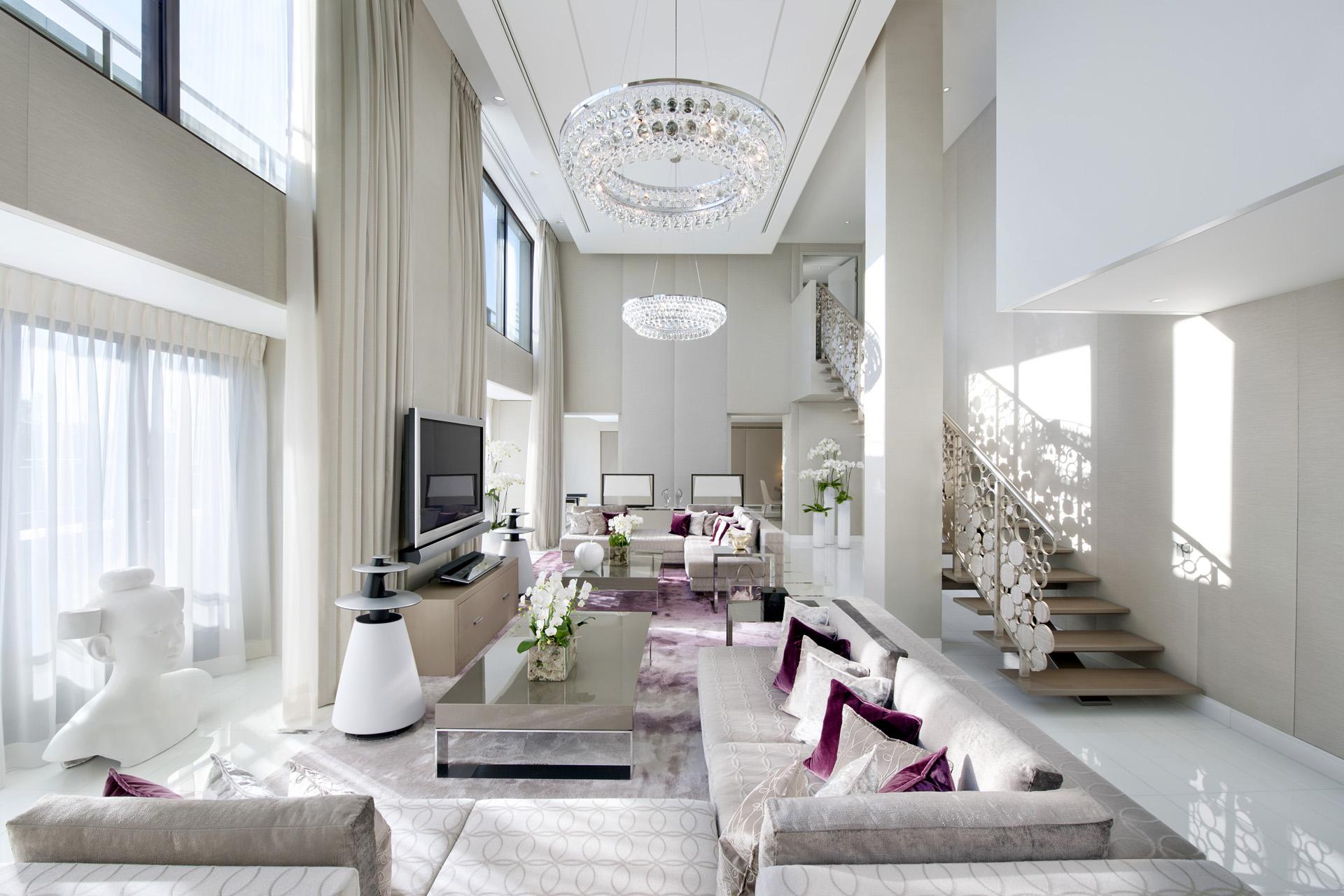 Акценты в восточном стиле в гостиной