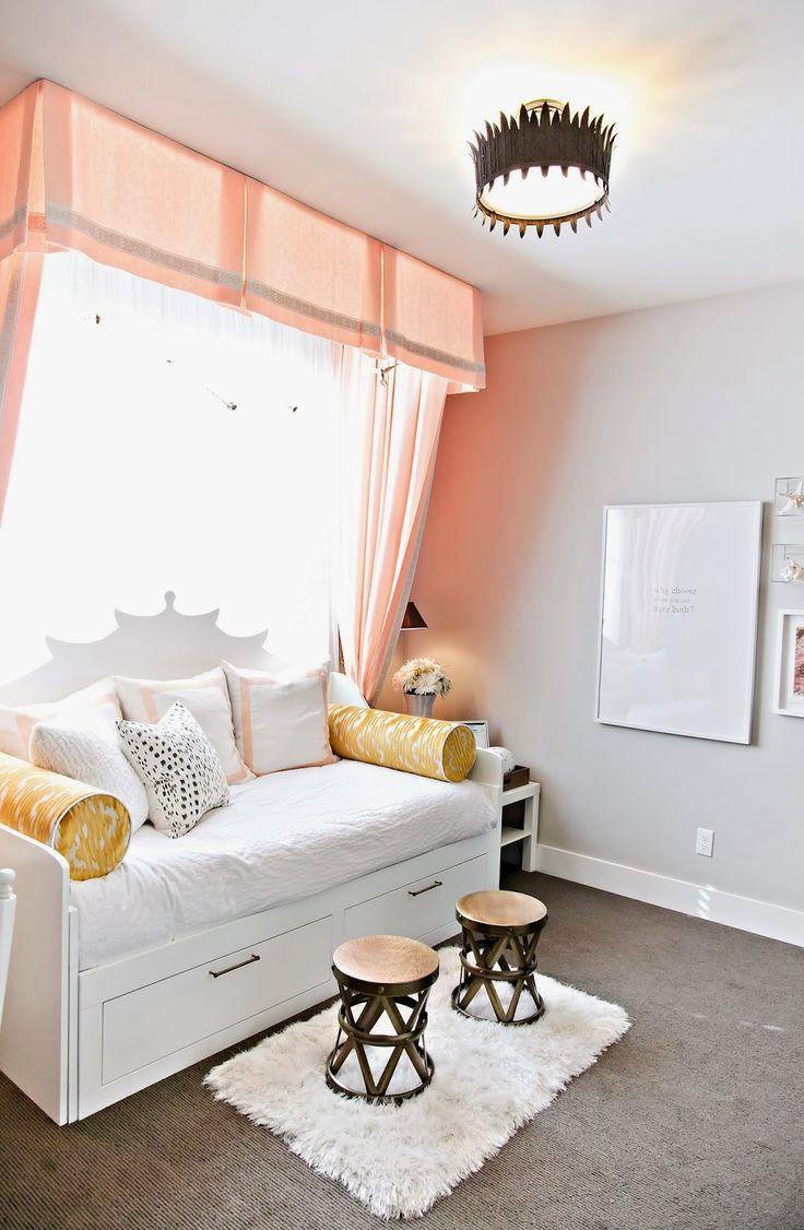 Балдахин персикового цвета