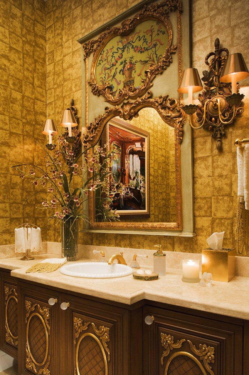 Оформление ванной в стиле барокко