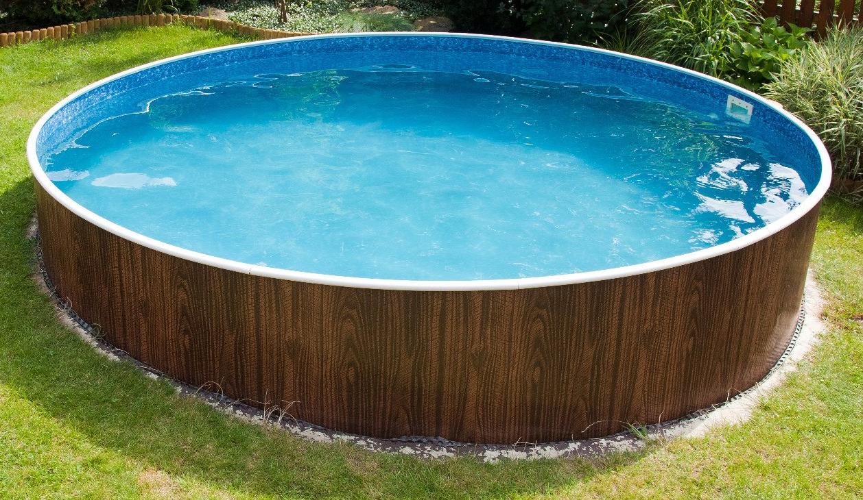 Сборно-разборный круглый бассейн