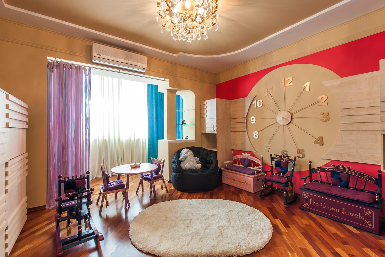 Большие часы для детской комнаты