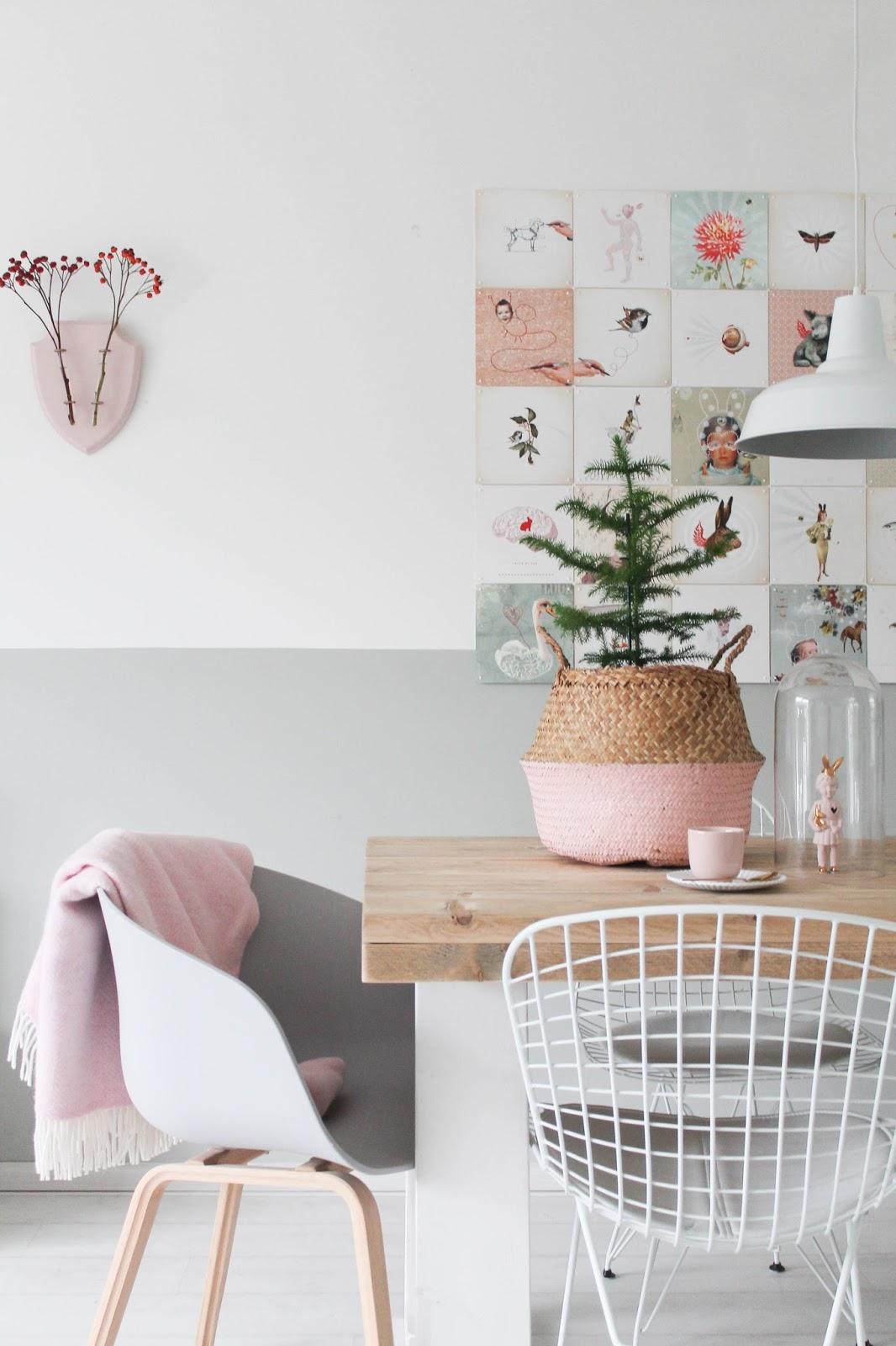 Розовый декор в интерьере