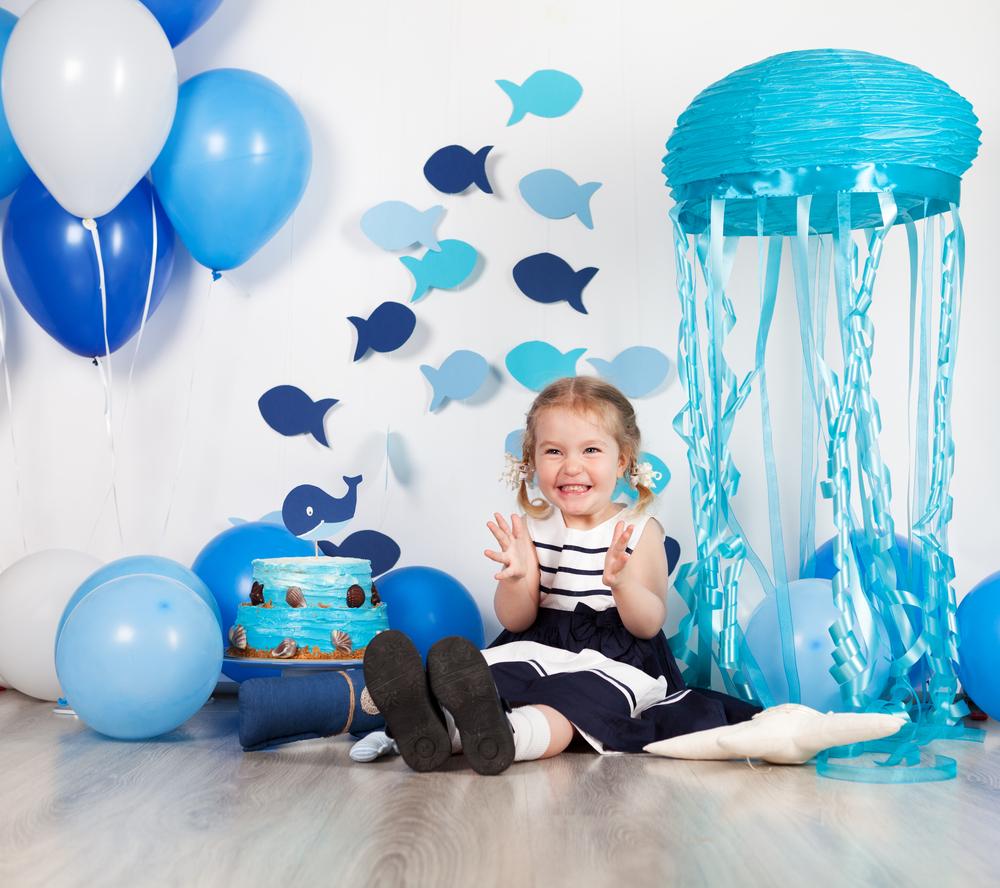 Оформление комнаты на день рождения в морском стиле