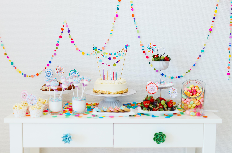 Украшение сладкого стола на день рождения