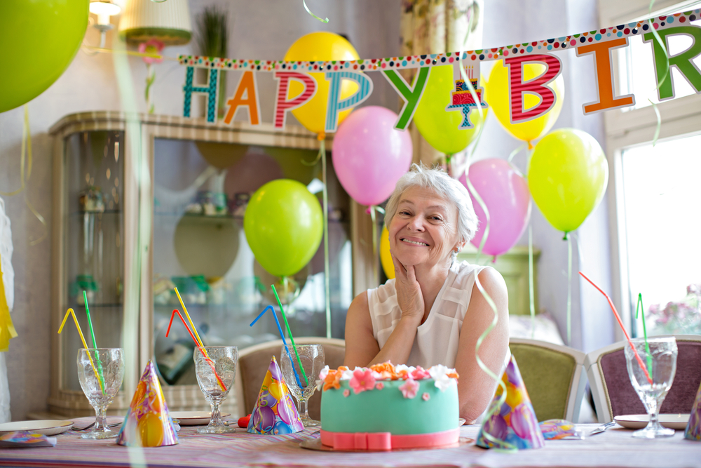 Украшение на день рождения взрослого
