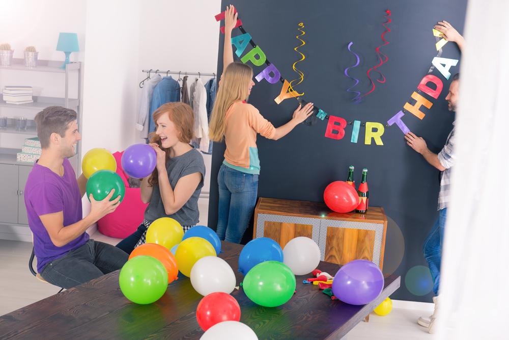 Декор комнаты ко дню рождения взрослого