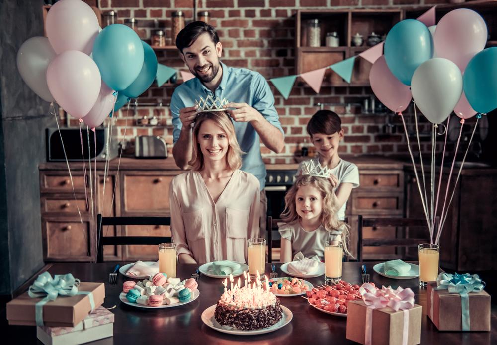 Декор комнаты на день рождения мамы