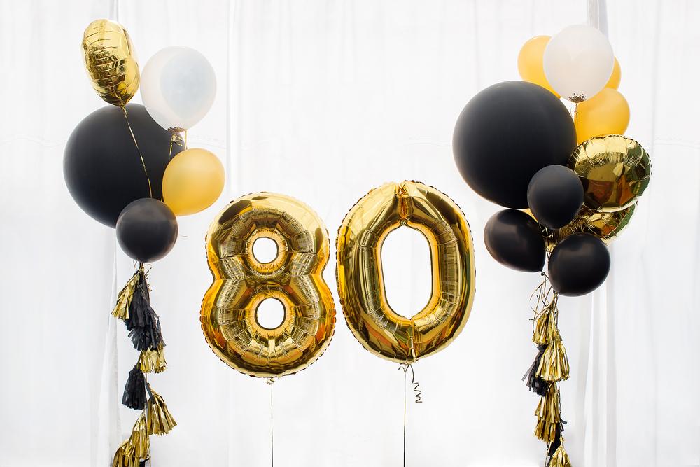Декор на 80 летие