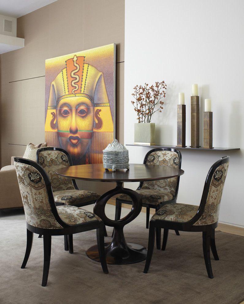 Современная гостиная в египетском стиле
