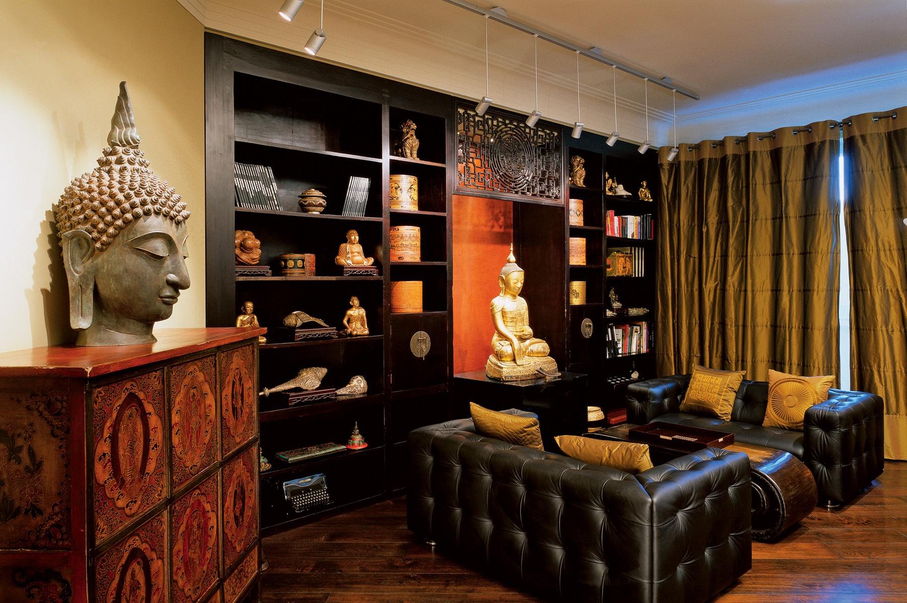 Интерьер в буддийском стиле