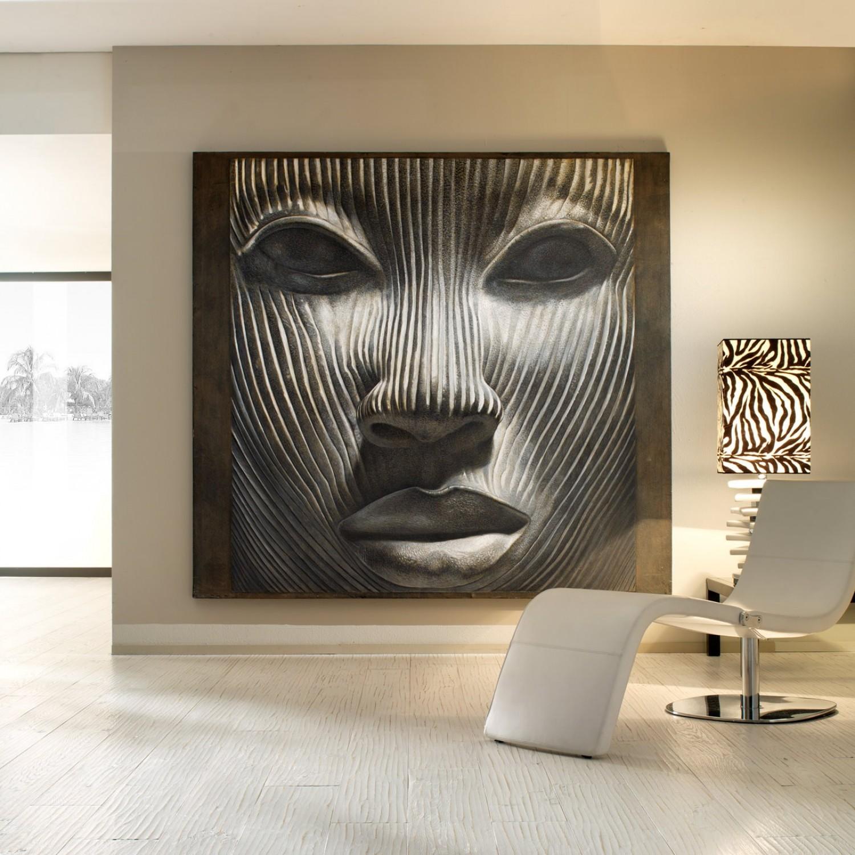 Фреска в современном интерьере
