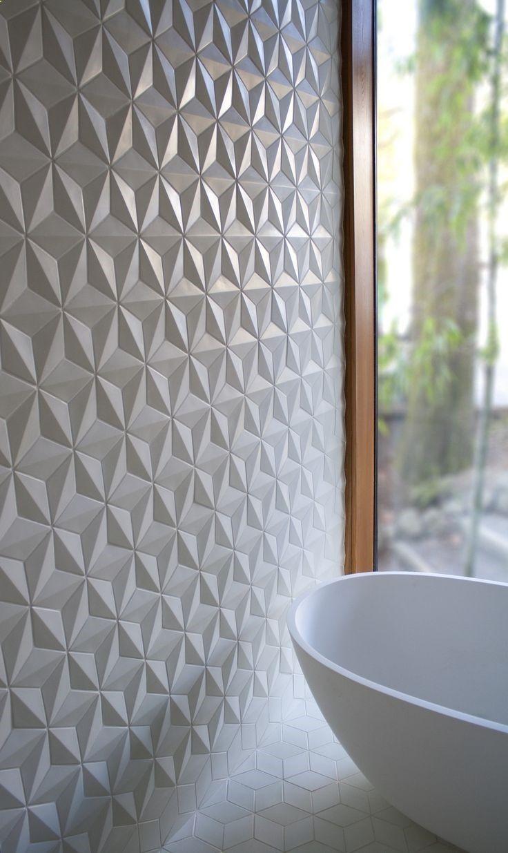 Раскладка плитки геометрической формы