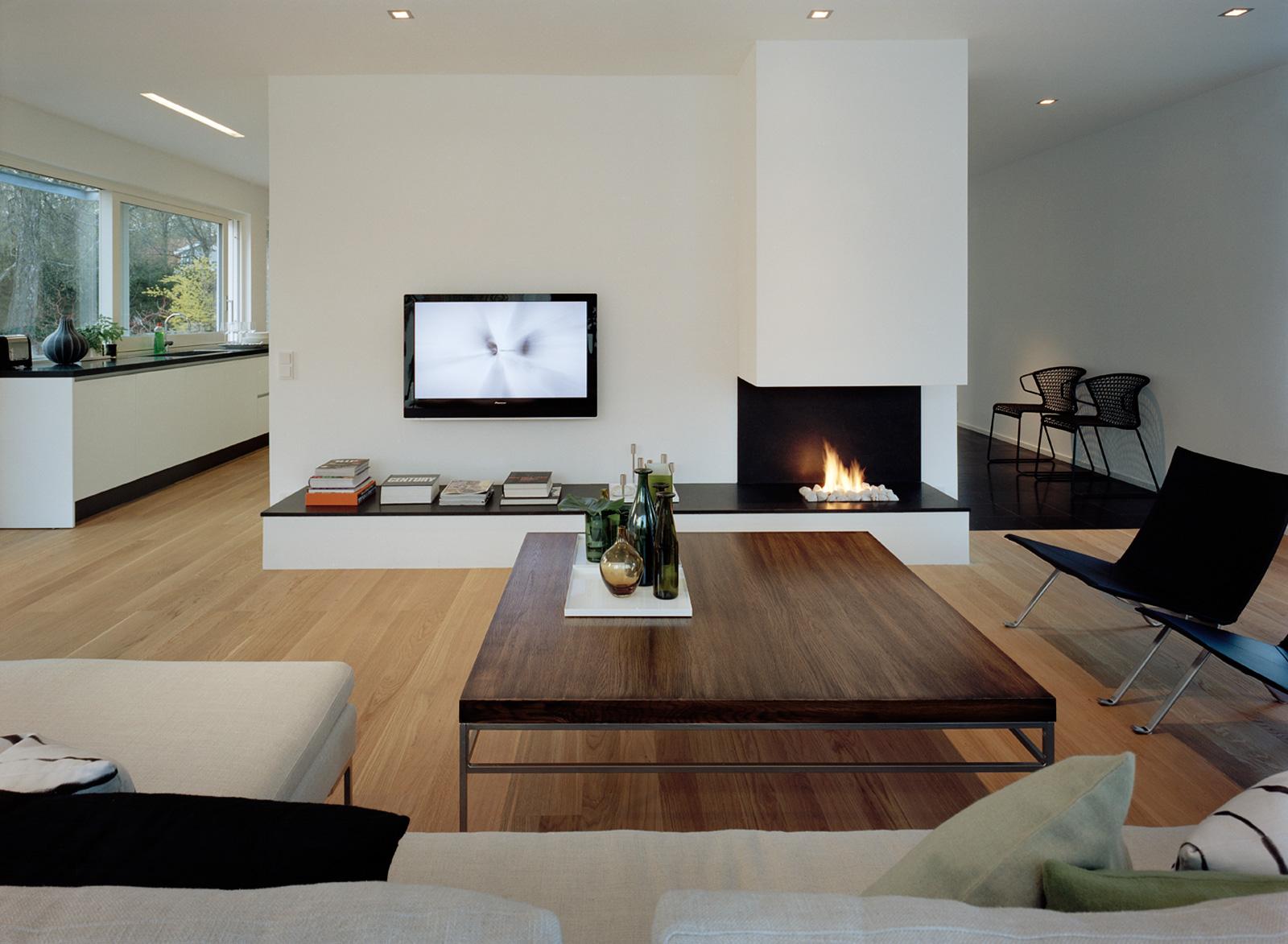 Красивые детали декора в гостиной в стиле минимализм