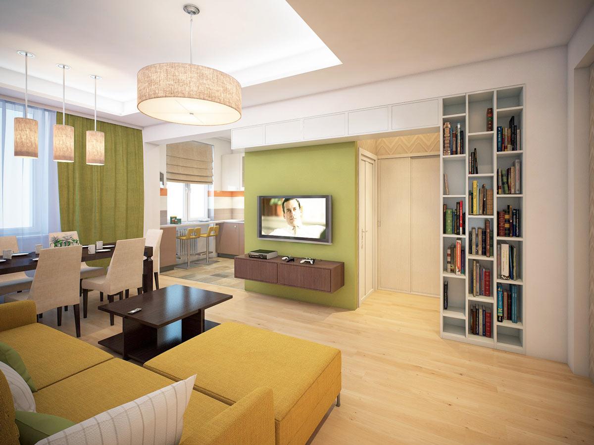 Освещение квартиры в эко-стиле