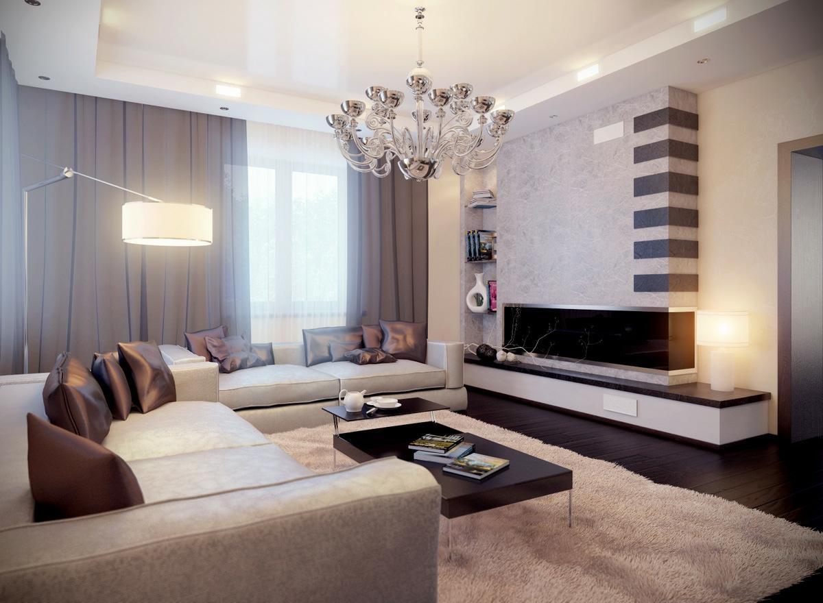 Диваны в современной гостиной