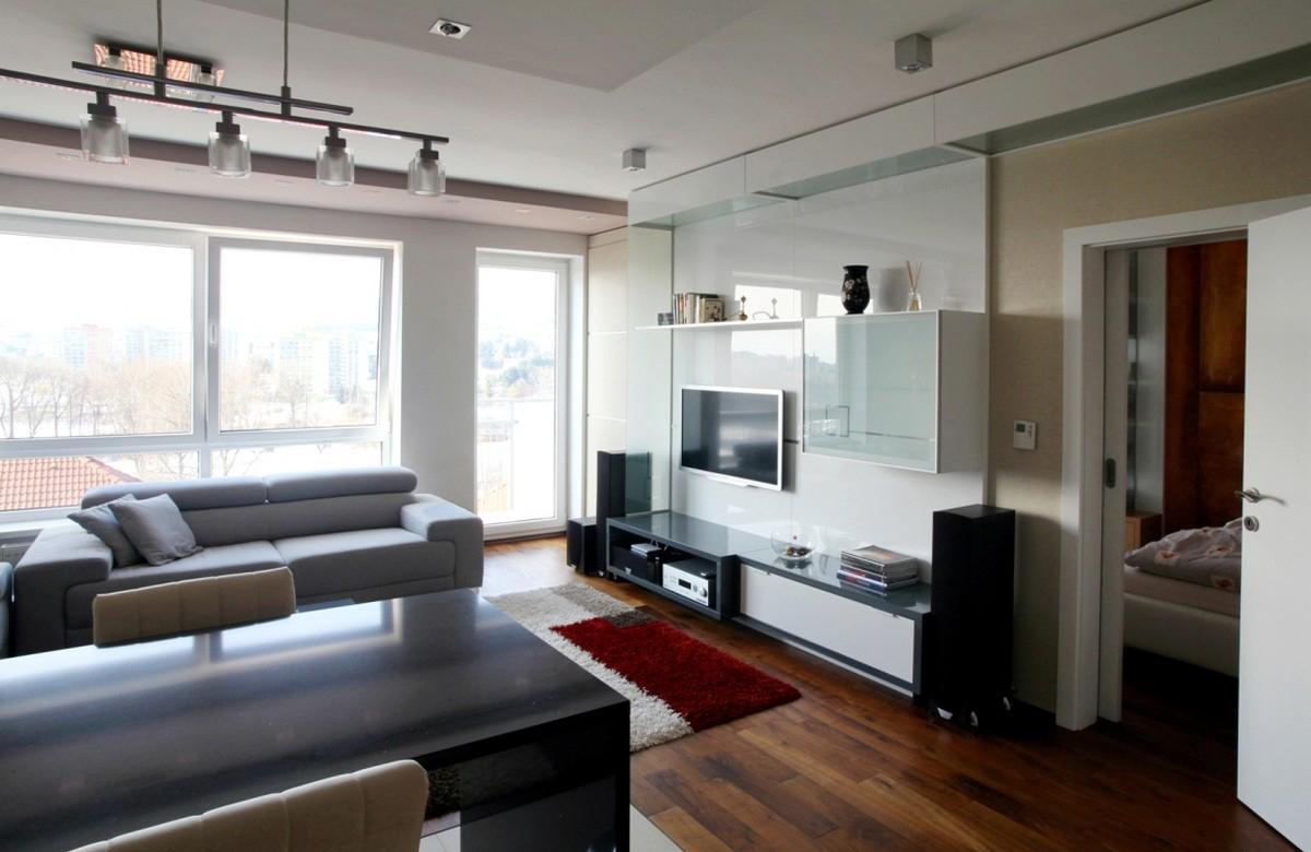 Стильная современная гостиная