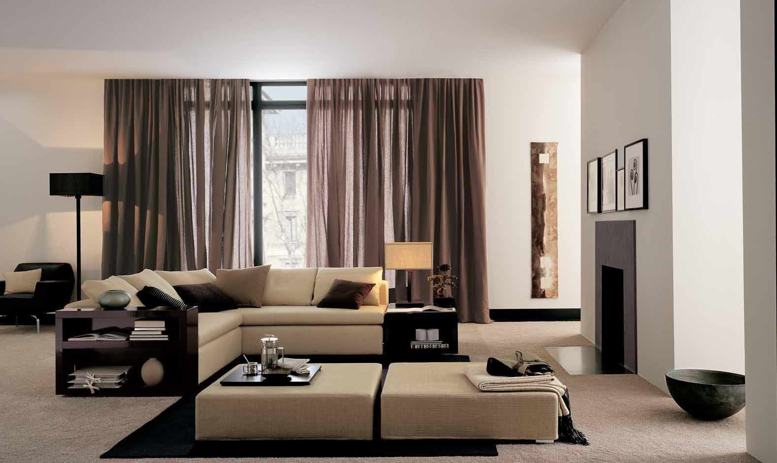 Стильная гостиная в стиле хай-тек