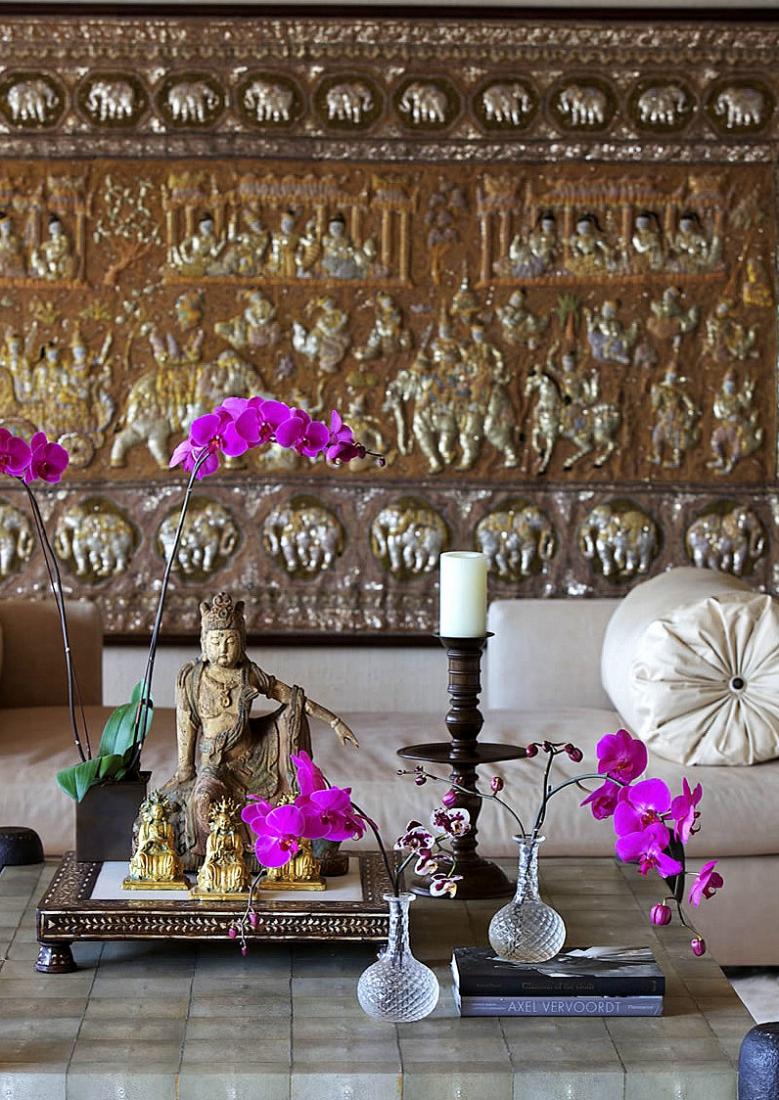 Красивый декор в индийском стиле