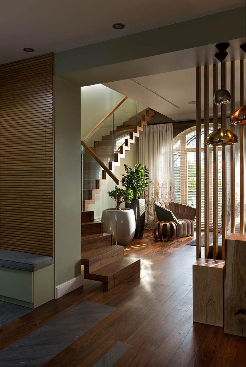 Двухуровневая квартира в эко-стиле