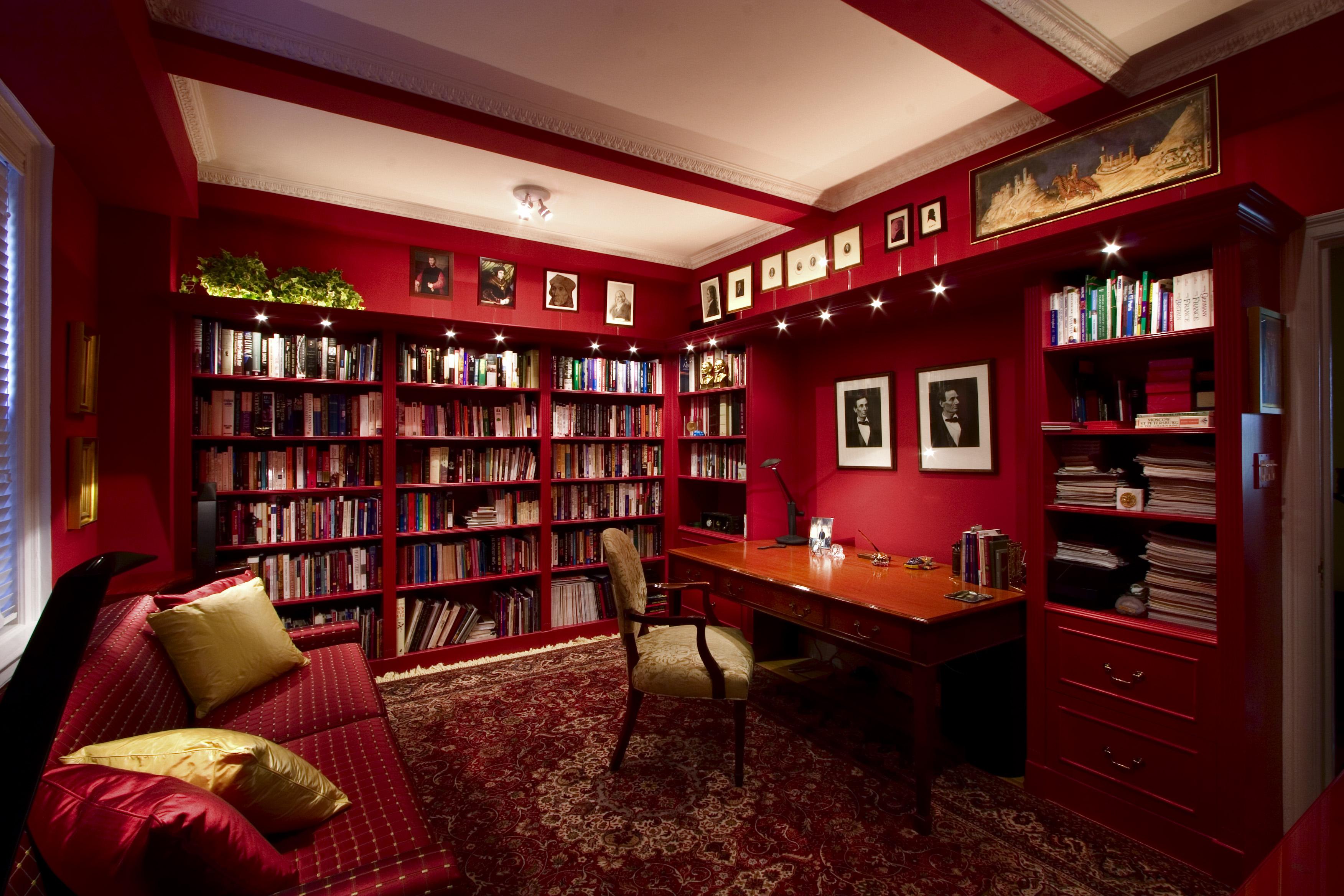 Бордовый кабинет