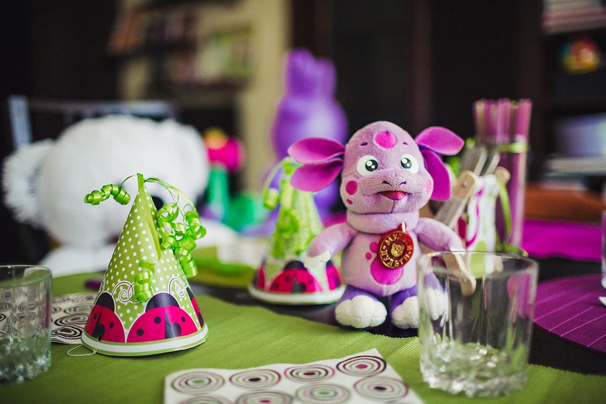 Украшение стола ко дню рождения ребенка