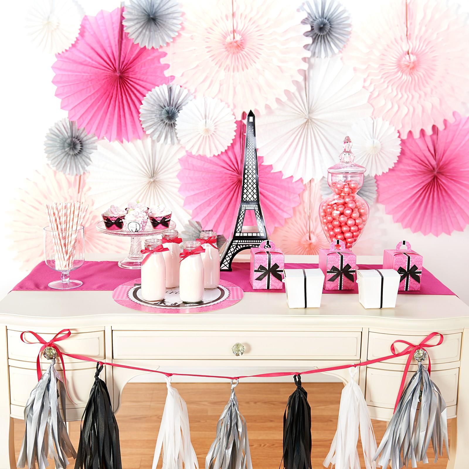 Декор на день рождения девочки