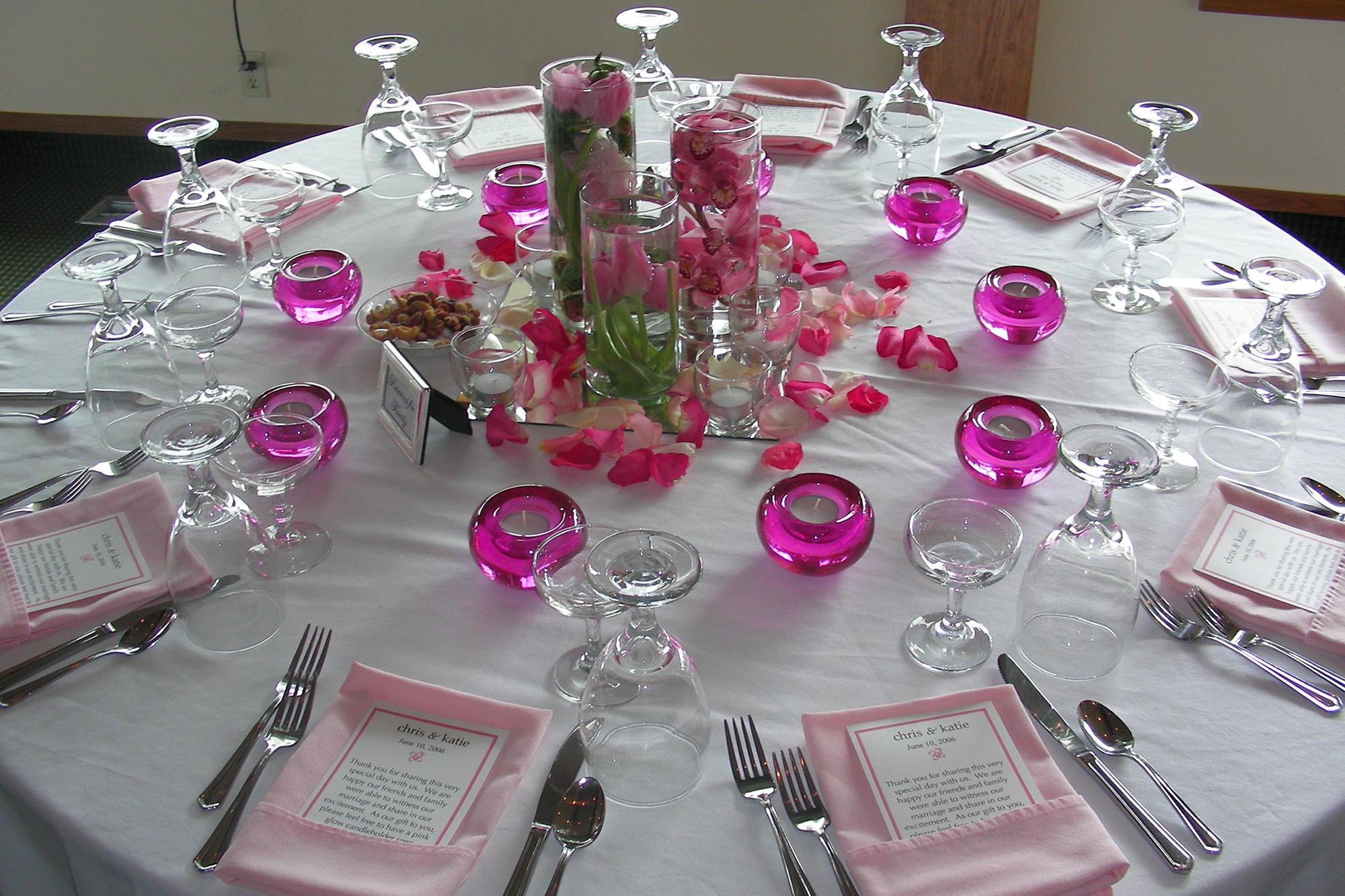 Сервировка стола для дня рождения взрослого