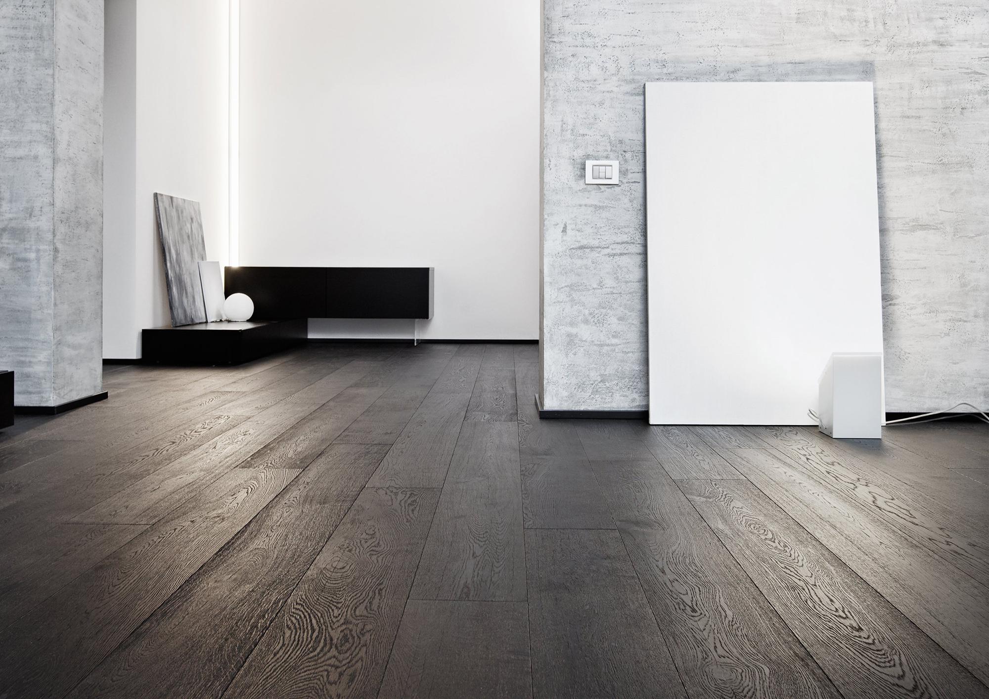 Черно-белая комната в стиле конструктивизм