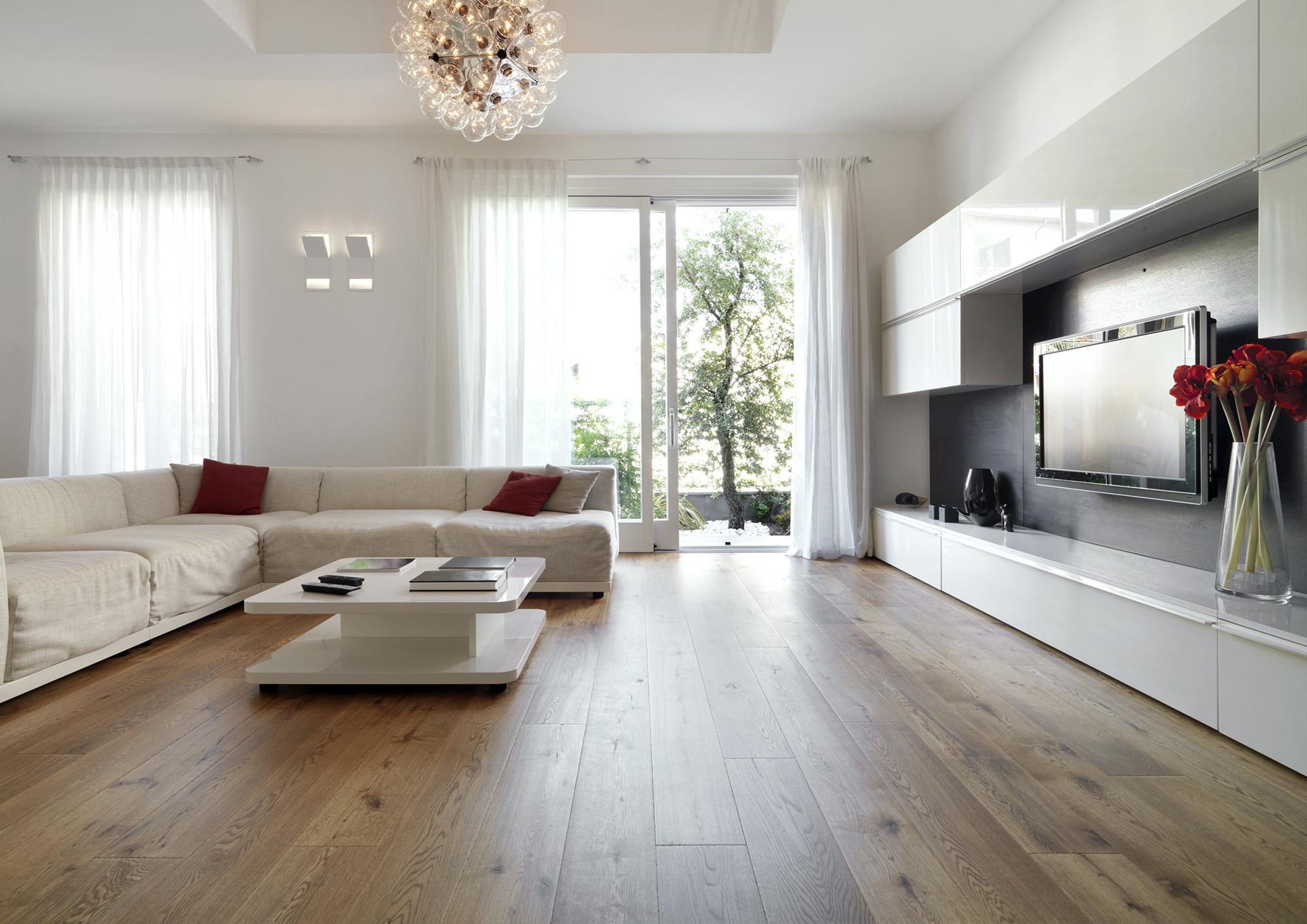 Просторная гостиная в стиле конструктивизм