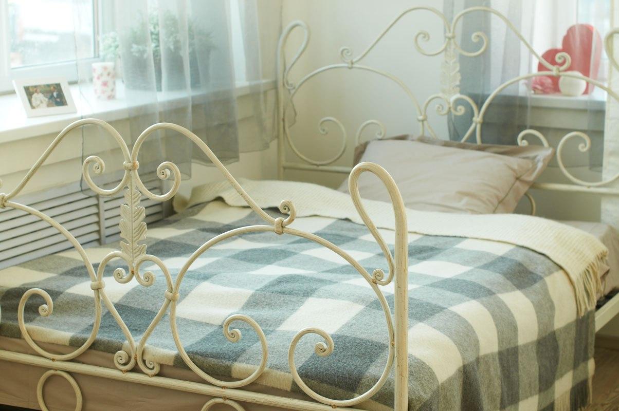 Красивая ковка кровати