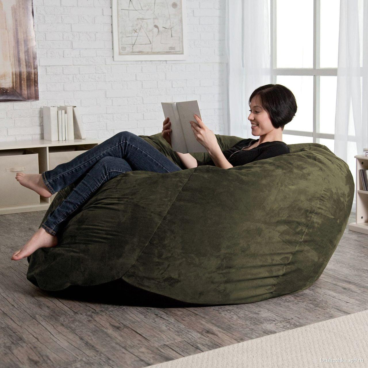 Большой диван мешок