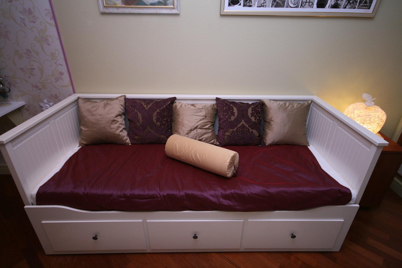 Софа-кровать с ящиками