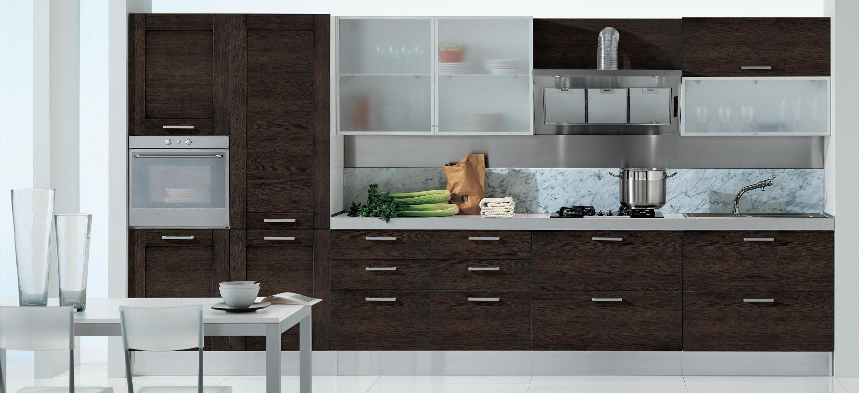 Кухня венге в интерьере (18 фото): красивые сочетания цветов и дизайн