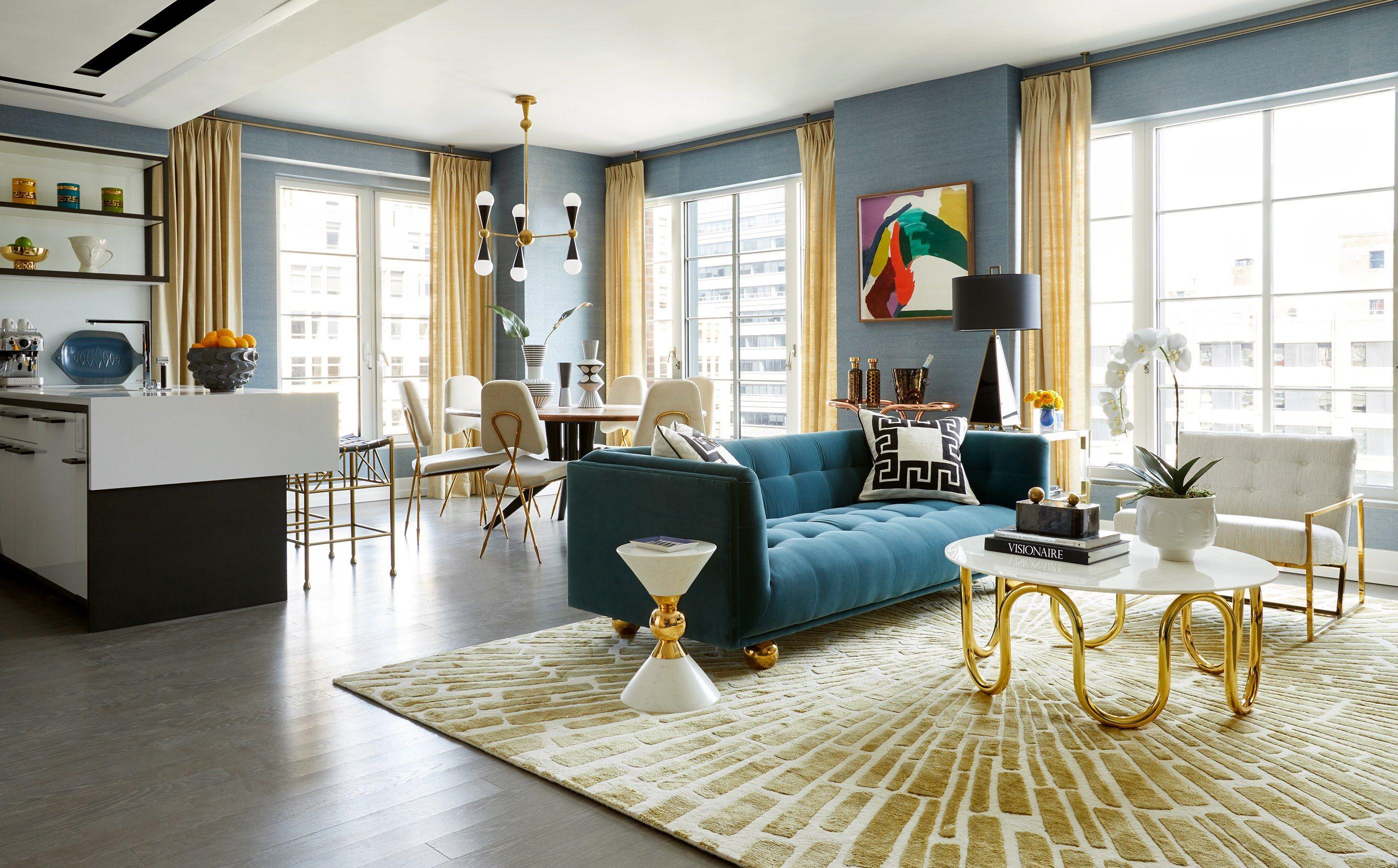 Оливковый цвет в интерьере модерн