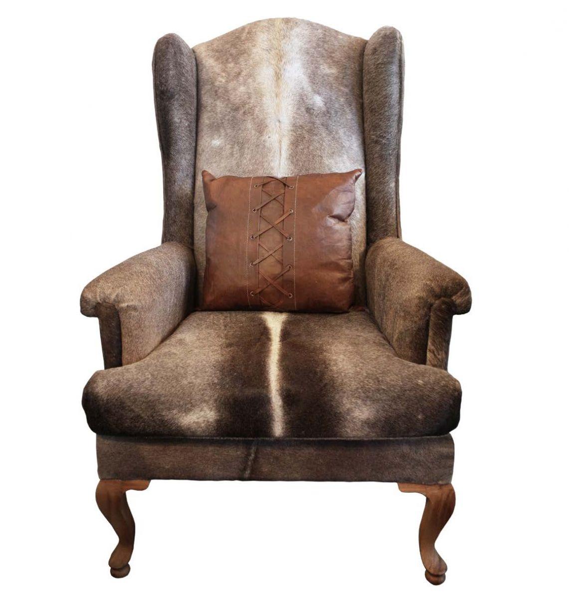 Стильное кресло для создания охотничьего интерьера
