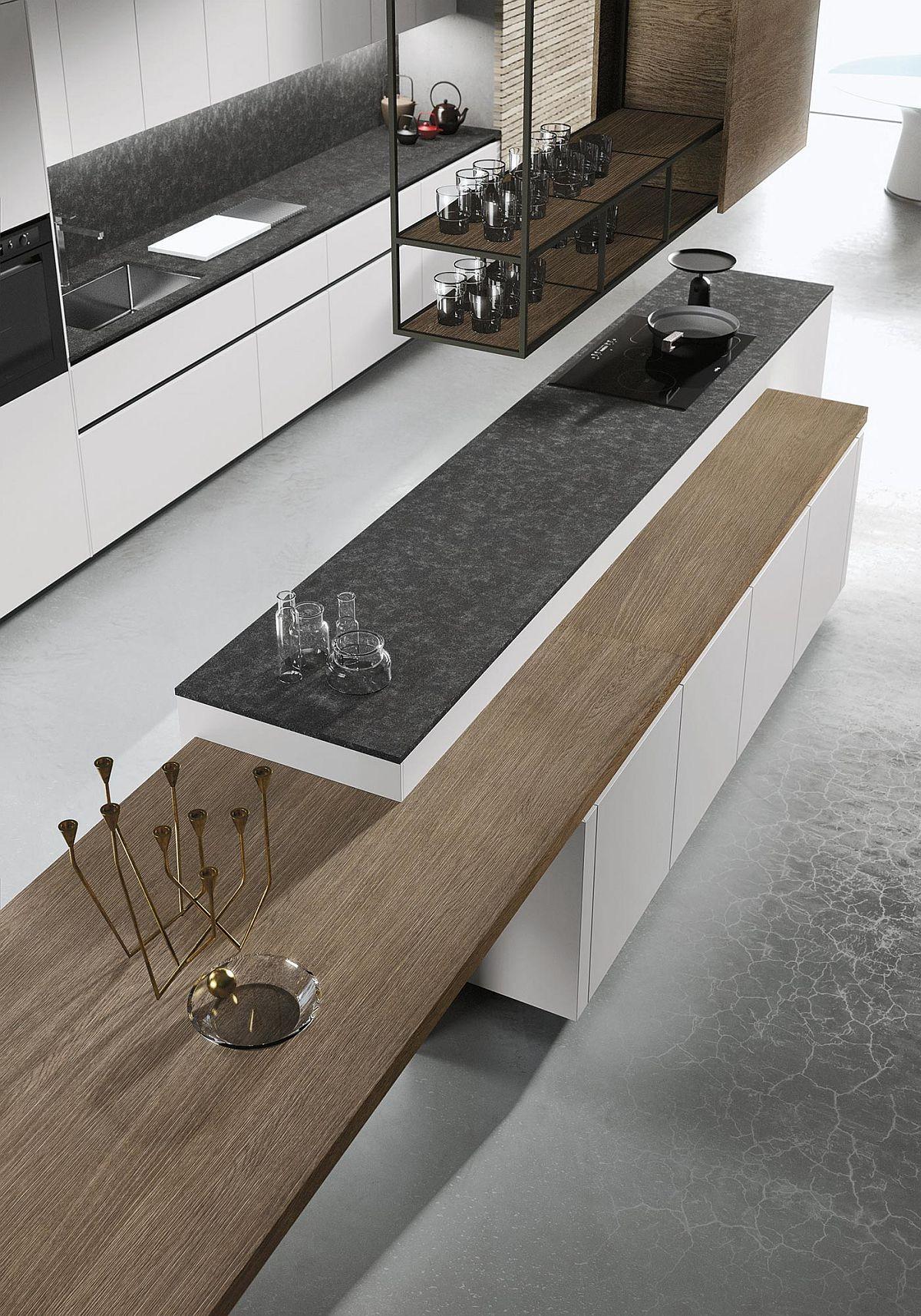 Стеклянная посуда в современной кухне