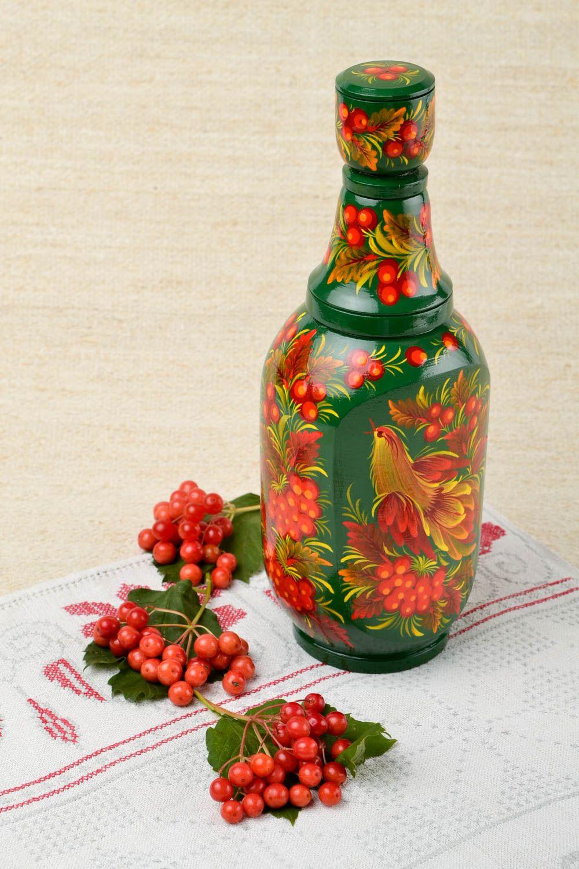 Декоративная посуда с росписью в русском народном стиле