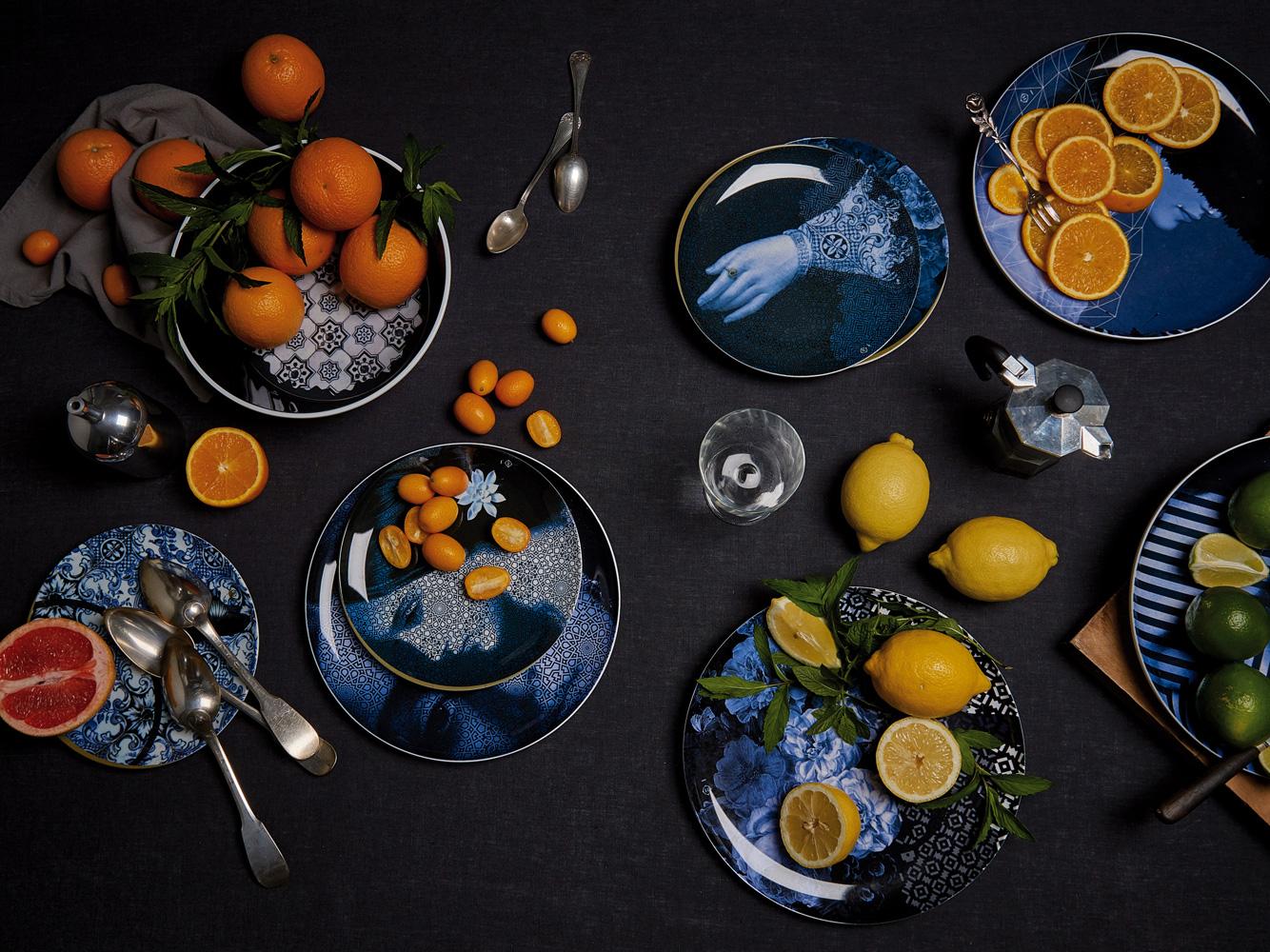 Посуда в сервировке стола