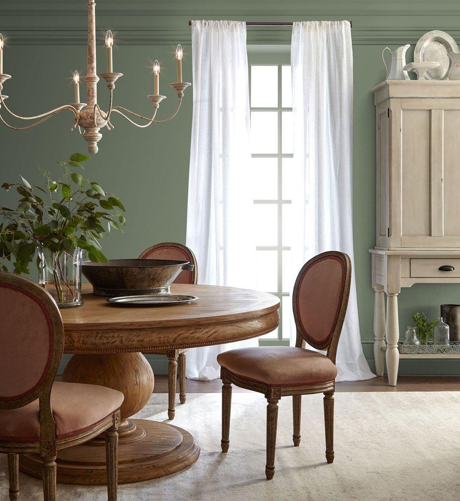 Оливковый цвет в стиле прованс