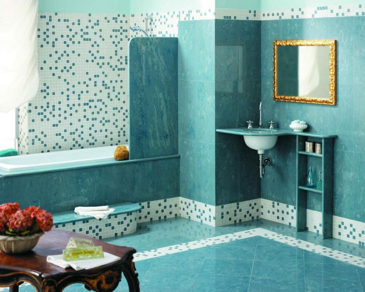 Плитка и мозаика в технике стеновой панели