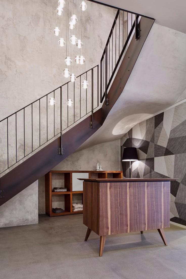 Двухуровневая квартира в стиле ретро