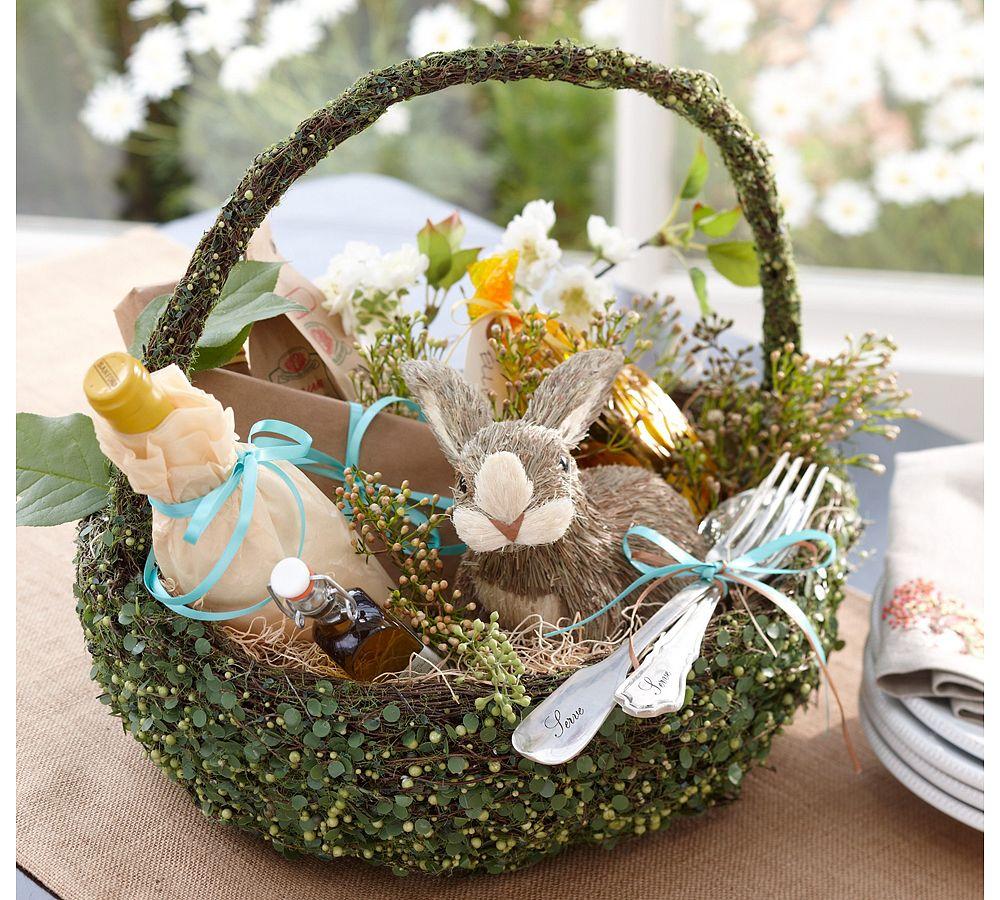 Праздничная корзинка для стола