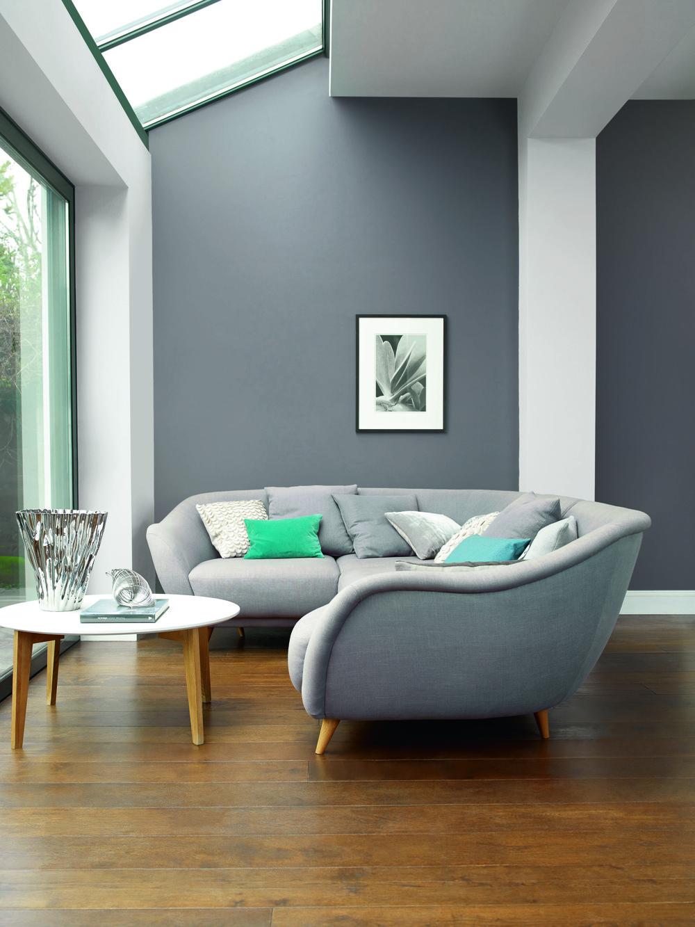 Сочетание серого цвета в интерьере