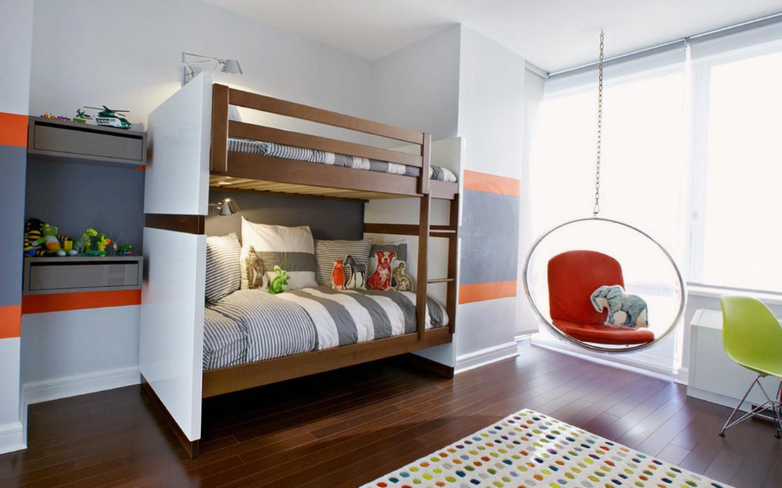 Стильная современная детская комната