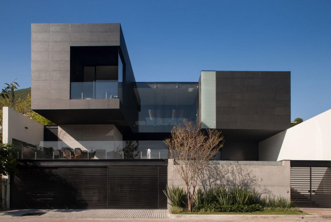 Экстерьер современного загородного дома