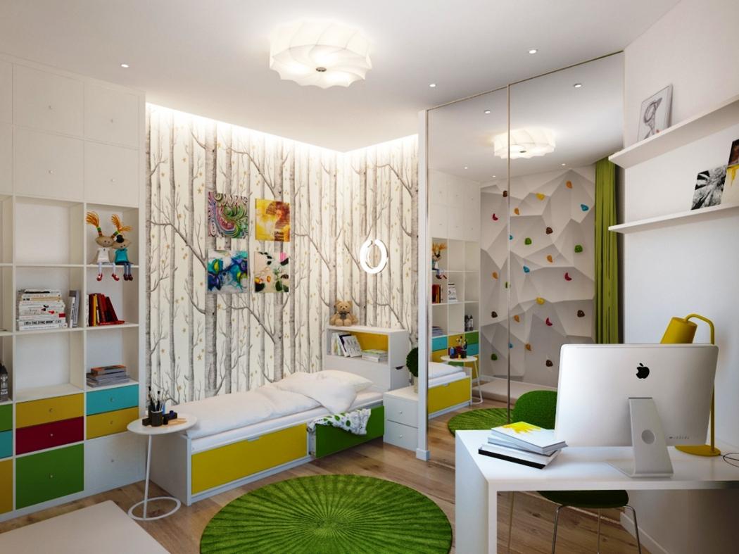 Современный стиль детской комнаты