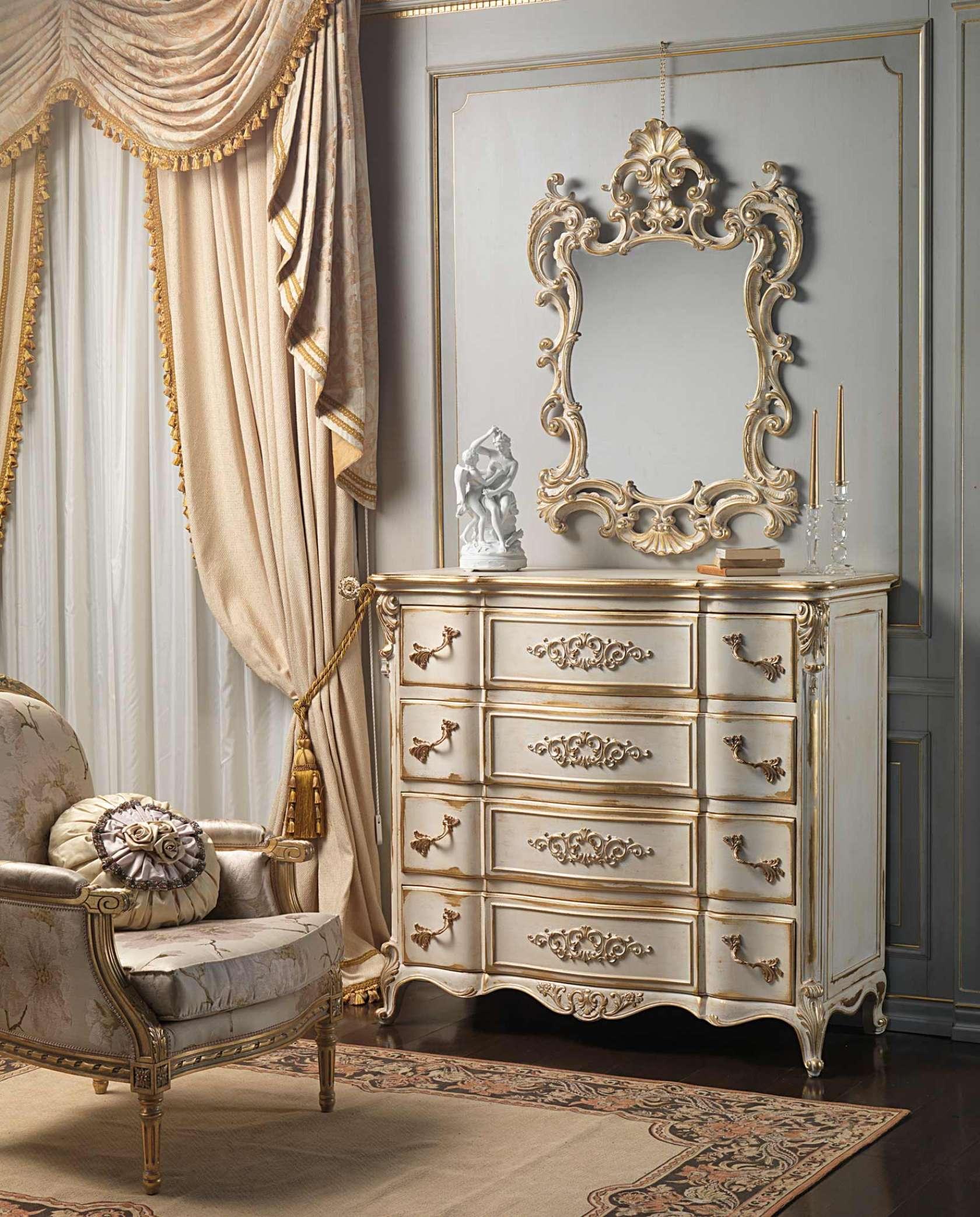 Классическая мебель и декор для спальни