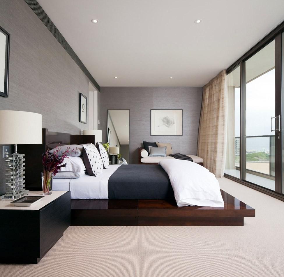 Современный дизайн в интерьере спальни