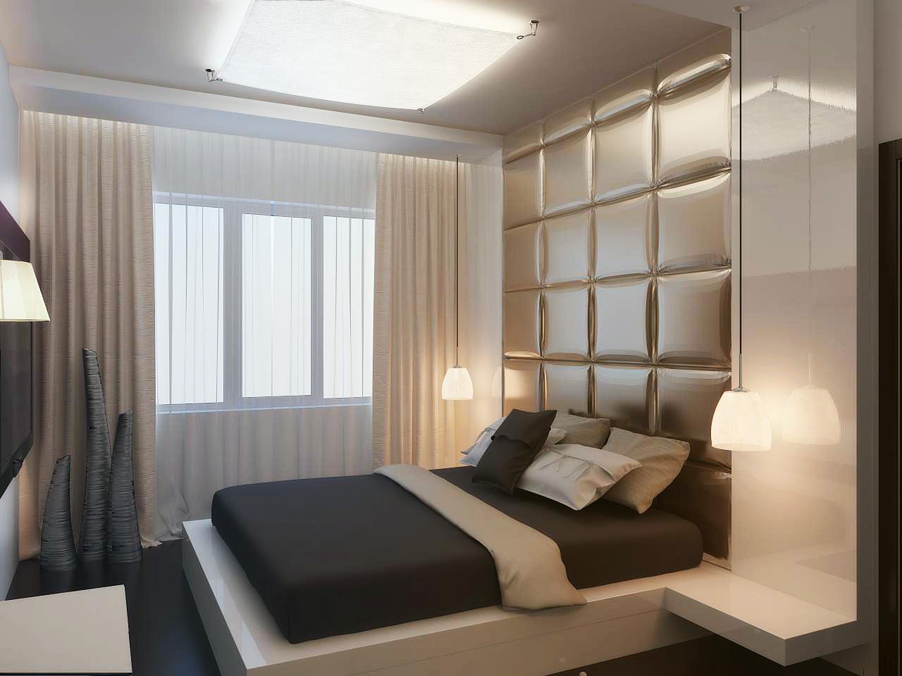 Проект современной спальни